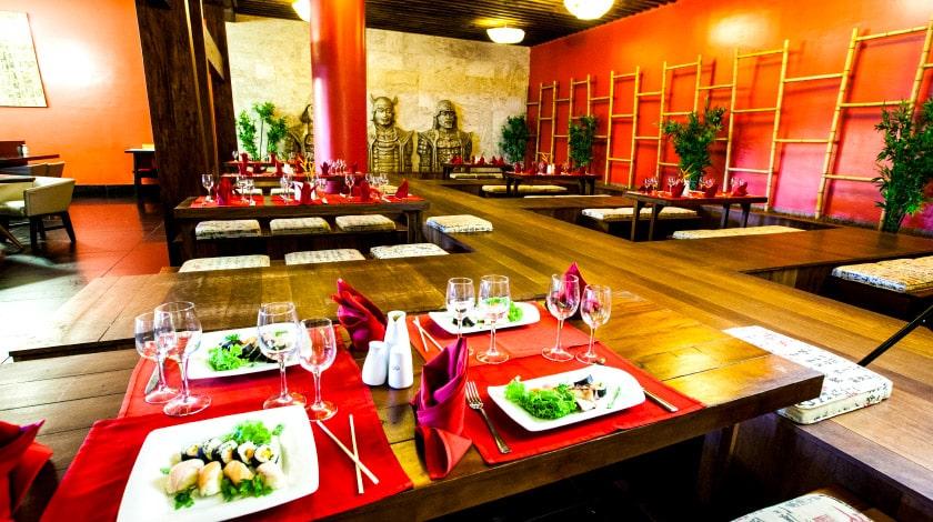 Restaurante do Grand Palladium Imbassaí, All-Inclusive perfeito para casais