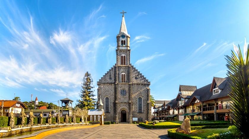 Paróquia de São Pedro, em Gramado