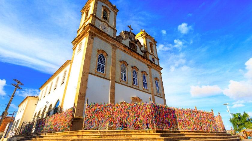 Igreja Nosso Senhor do Bonfim, na Bahia