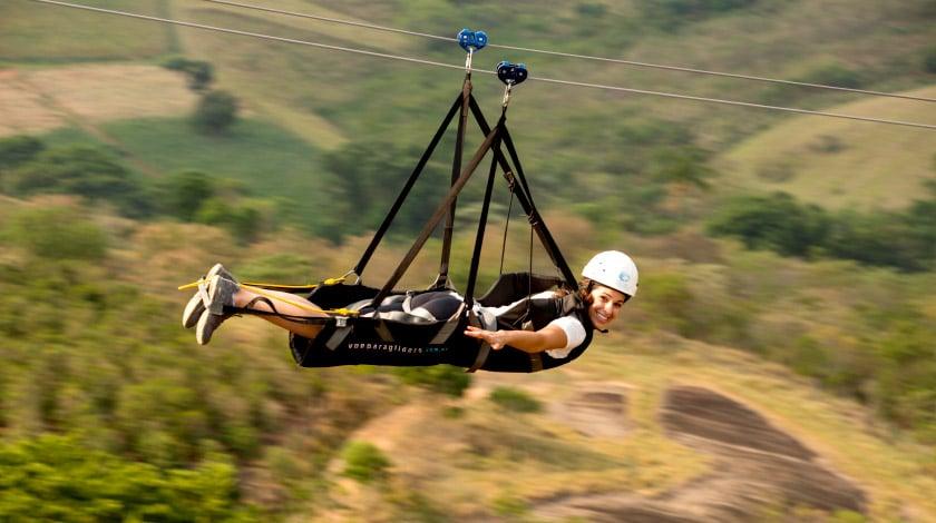 Parque dos Sonhos - Tirolesa Voadora