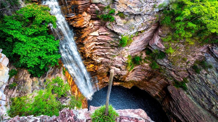 Cachoeira do Buracão, no Parque Nacional da Chapada Diamantina