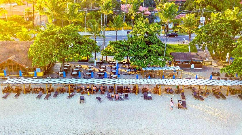 Clube de Praia João da Sunga, no Porto Seguro Praia Resort