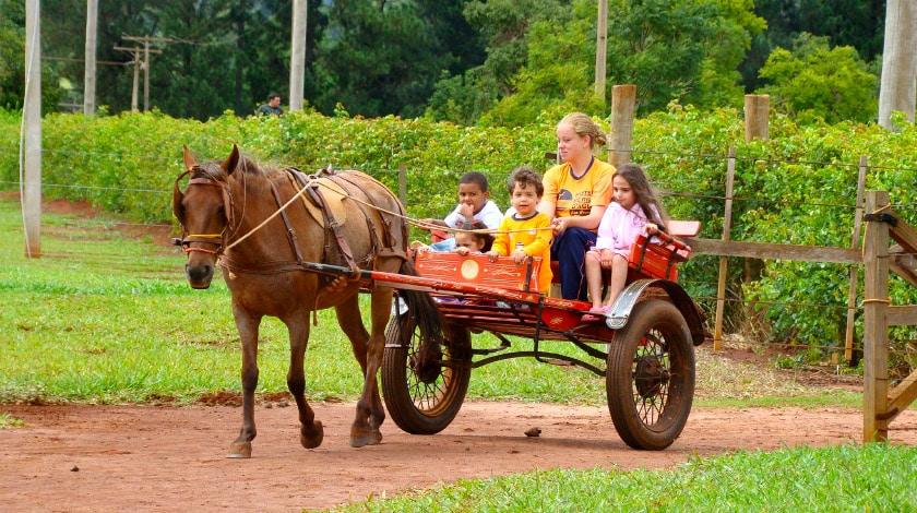 Berro D'Água Eco Resort - hotéis crianças são paulo