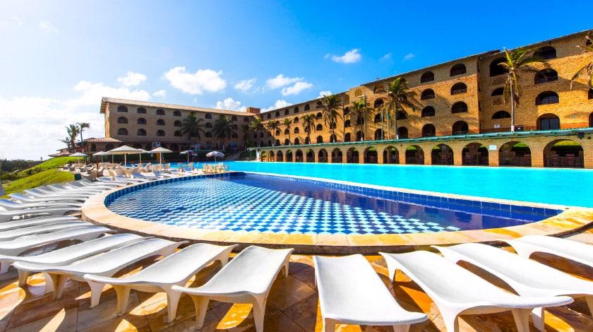 Piscina do Coliseum Beach Resort, All-Inclusive em Beberibe