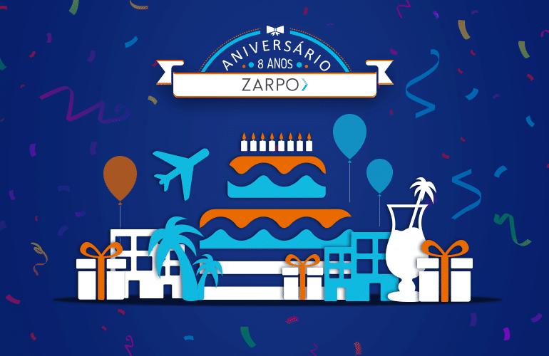 Começou a festa! O Aniversário do Zarpo traz mais de 50 ofertas exclusivas