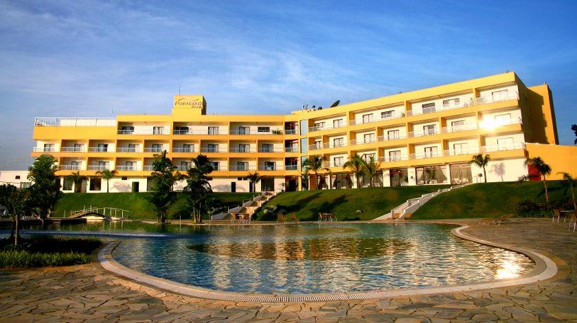 Vista Geral para o Furnaspark Resort, em Formiga