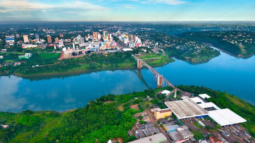 Ponte da Amizade - Paraguai