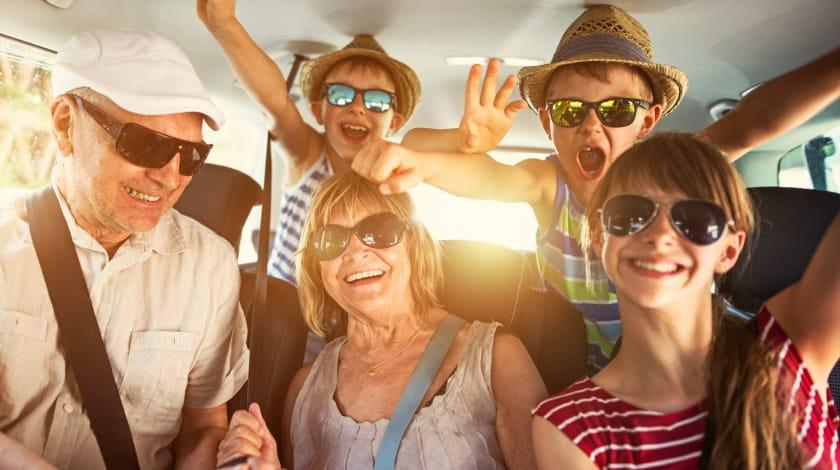 Segurança da Crianças - Viagem de Carro - Manutenção carro viajar