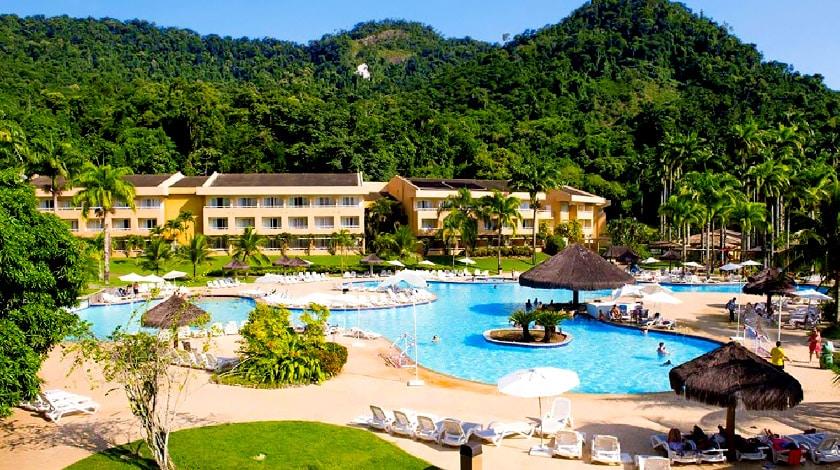 Foto da área de lazer do Vila Galé Eco Resort de Angra.