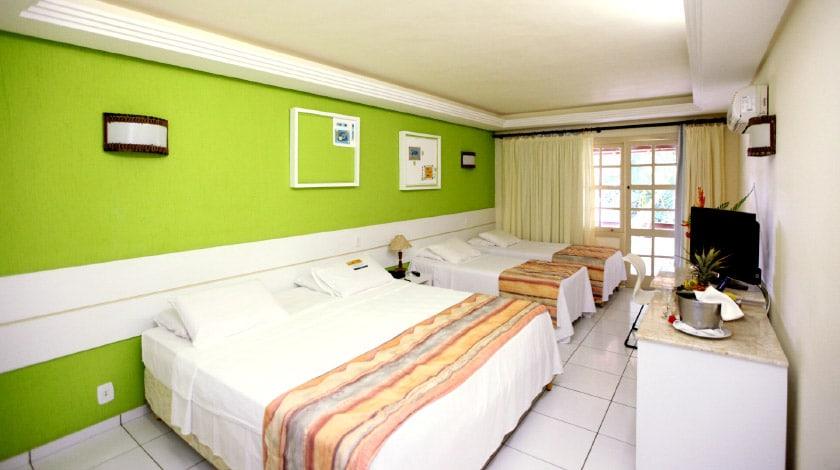 Acomodações do Cana Brava Resort