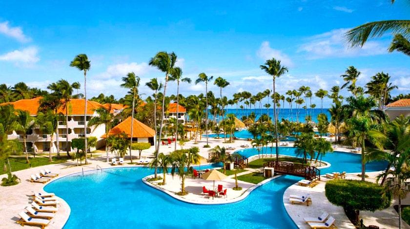 Vista piscina do Dreams Palm Beach, entre as ofertas do Welcome to Punta Cana