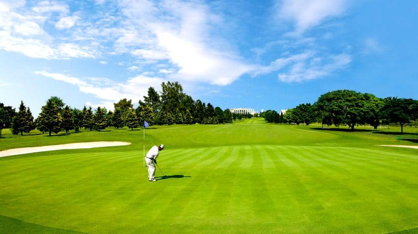 Campo de golfe do Club Med Lake Paradise