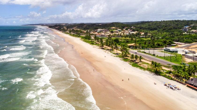 Praia Dos Milionários, em Ilhéus