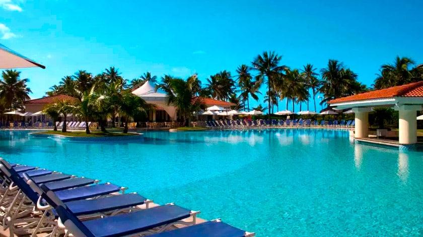 Piscina do Sauípe Resort, do complexo Costa do Sauípe