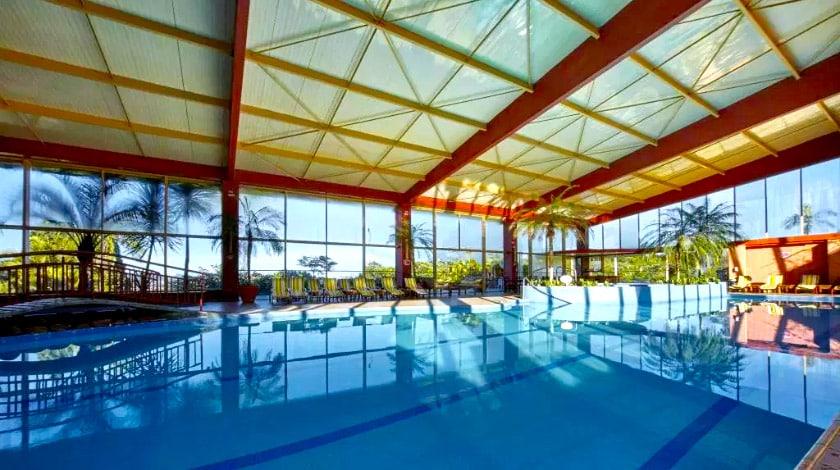 Foto da piscina do Hotel Villa Rossa