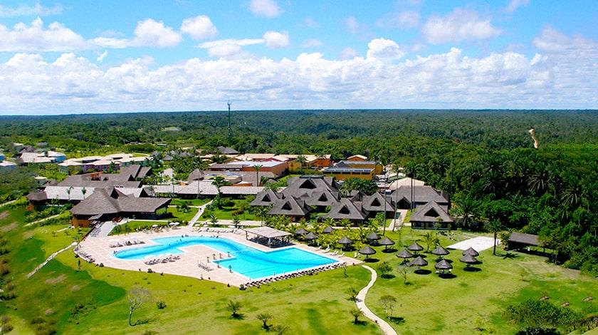 Vista geral do Club Med Trancoso, na Bahia
