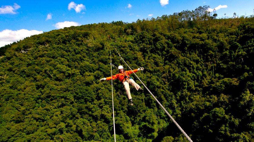 SPaventura Eco Resort - tirolesa