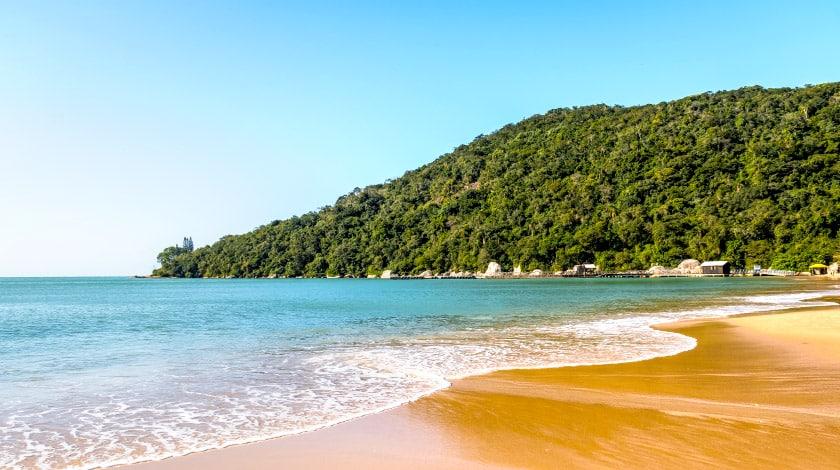 Praia da Fortaleza, em Penha