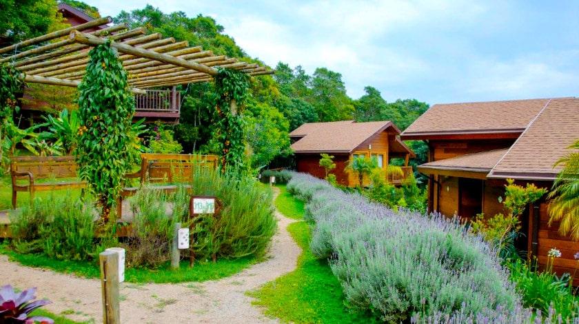 Área das acomodações do SPaventura Eco Resort