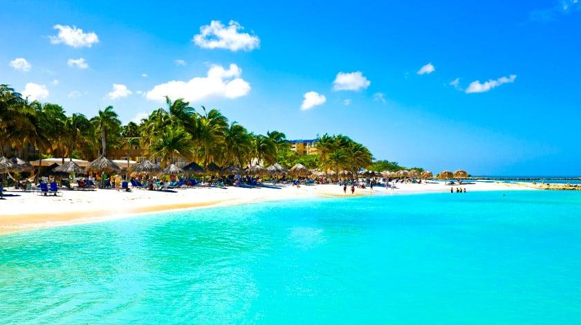 Aruba. Férias de janeiro