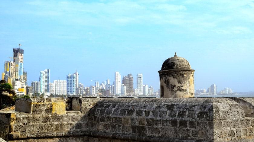 Cidade Amuralhada, em Cartagena