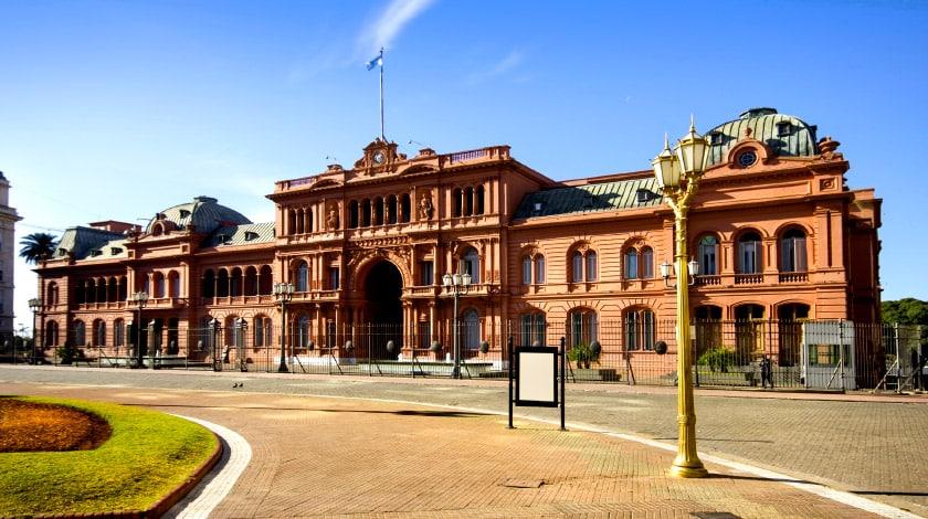 Casa Rosada, em Buenos Aires