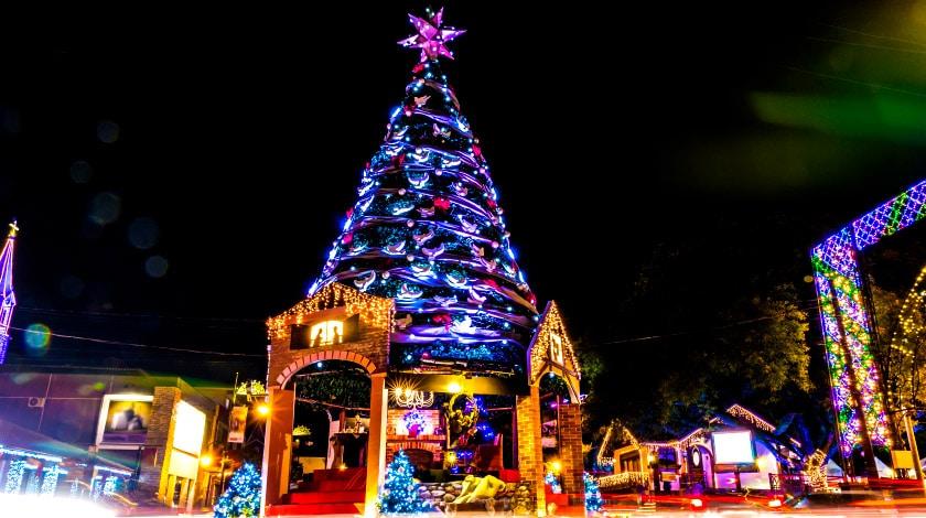 Natal Luz. Férias de janeiro