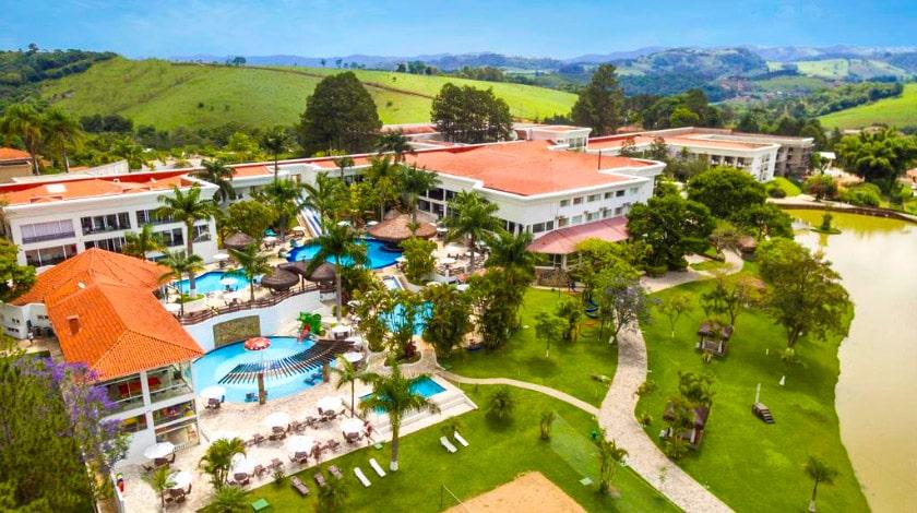 Vista Geral para o Vale Suíço Resort