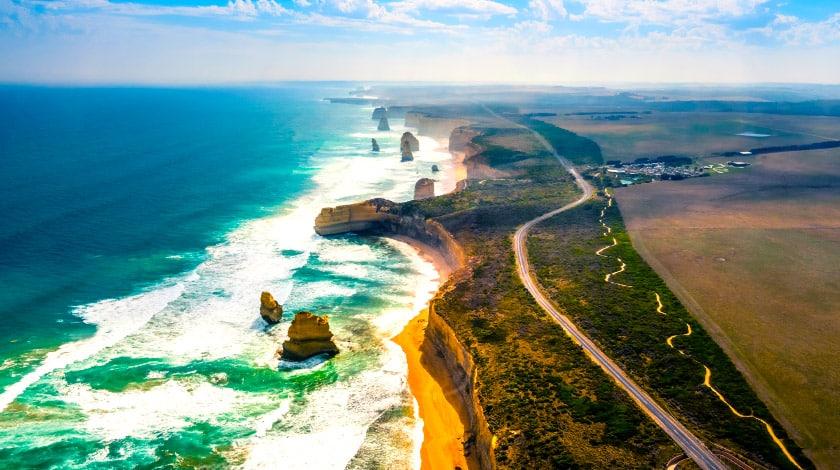 Road trip na Great Ocean Road, no litoral australiano