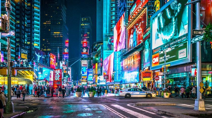 A 5ª Avenida, em Nova York. Viajar em novembro.