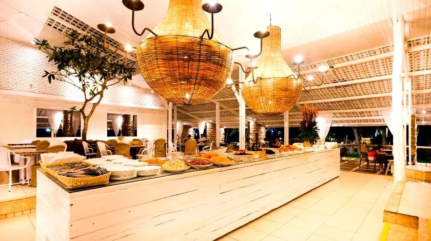 Restaurante do Pratagy Beach Resort, All-Inclusive em Maceió