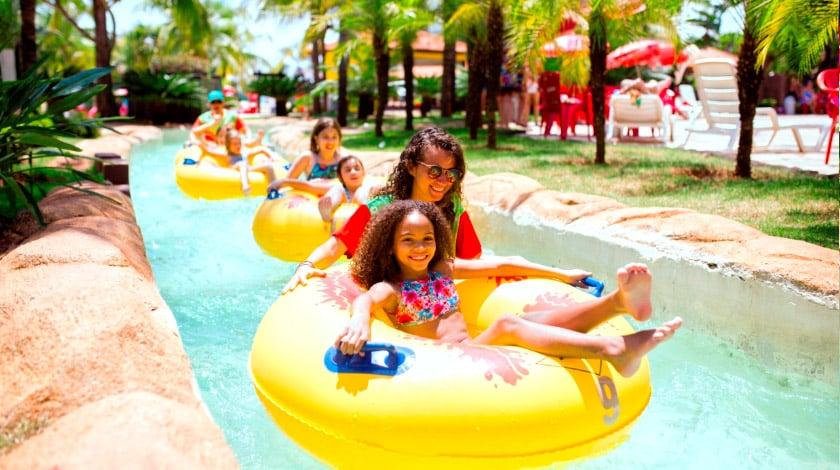 Barretos Country Thermas Park, parque aquático do resort