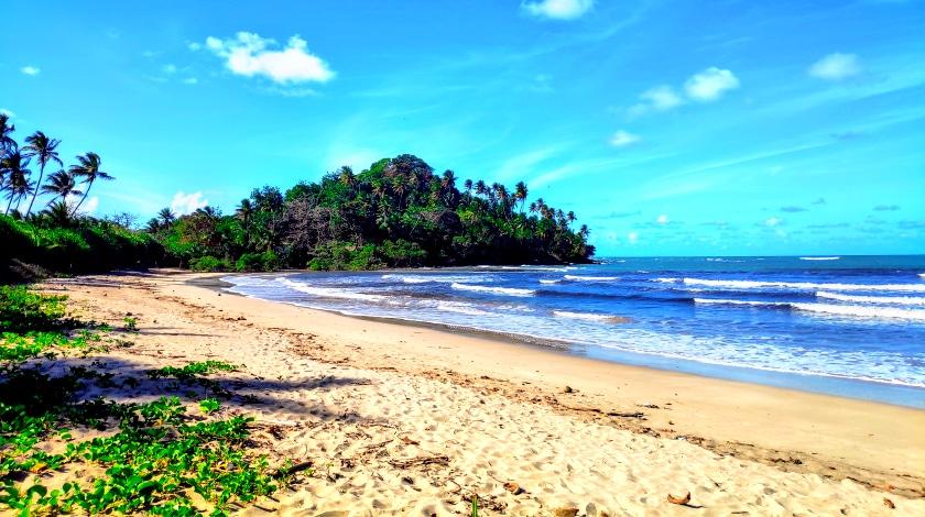 Praia da Ilha de Boipeba, na Bahia