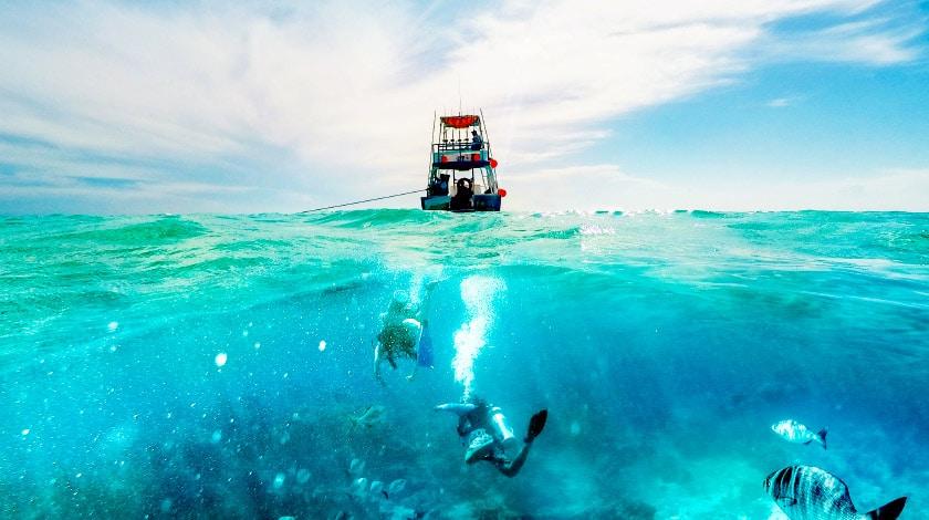 Mergulho em Cozumel, ilha que pode ser visitada a partir de Cancun