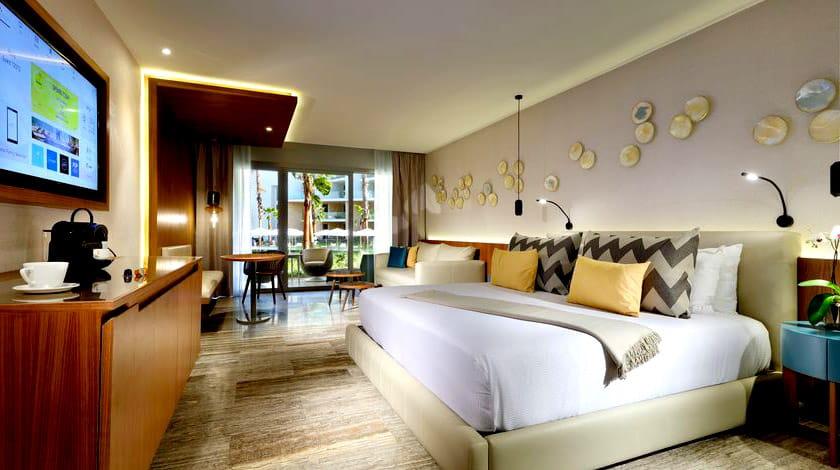 Quarto do resort All-Inclusive Grand Palladium Costa Mujeres, ao norte de Cancun