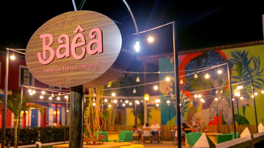 Restaurante Baêa, uma das opções do Sauípe Premium Brisa