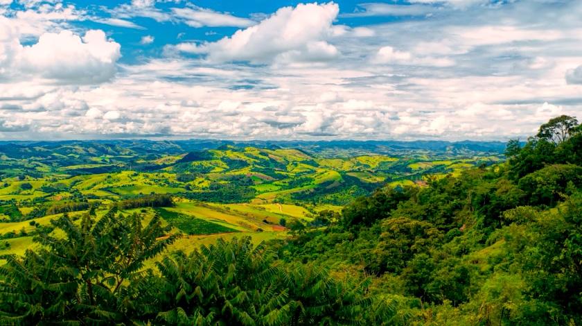 Vista panorâmica para Socorro, destino de ecoturismo no interior paulista