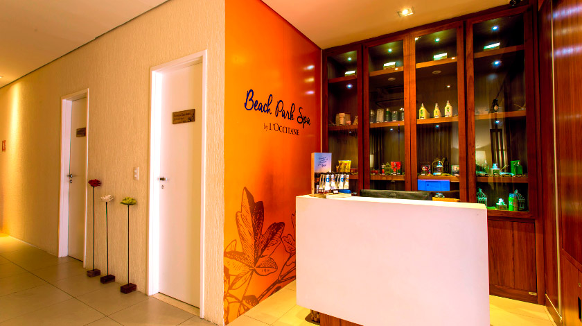 Entrada do Beach Park Spa by L'Occitane