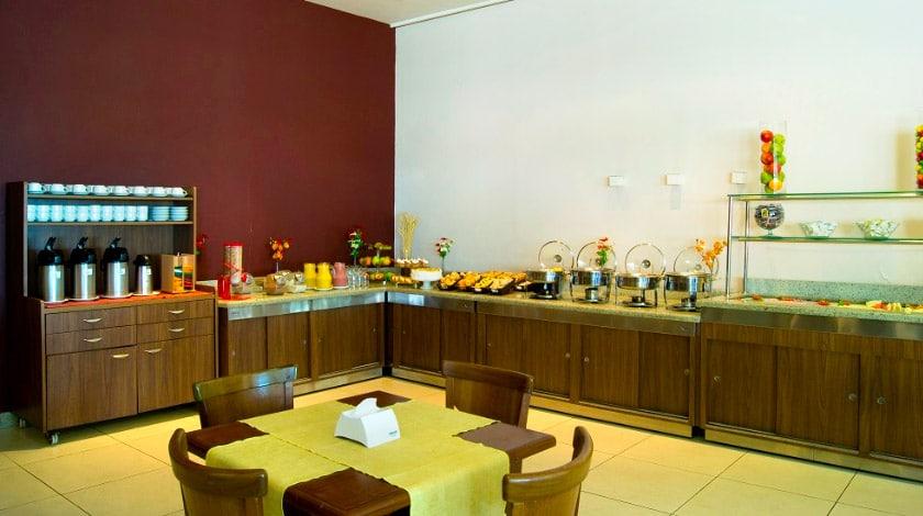 Restaurante do Bourbon Vitória, hotel da promoção Especial Bourbon