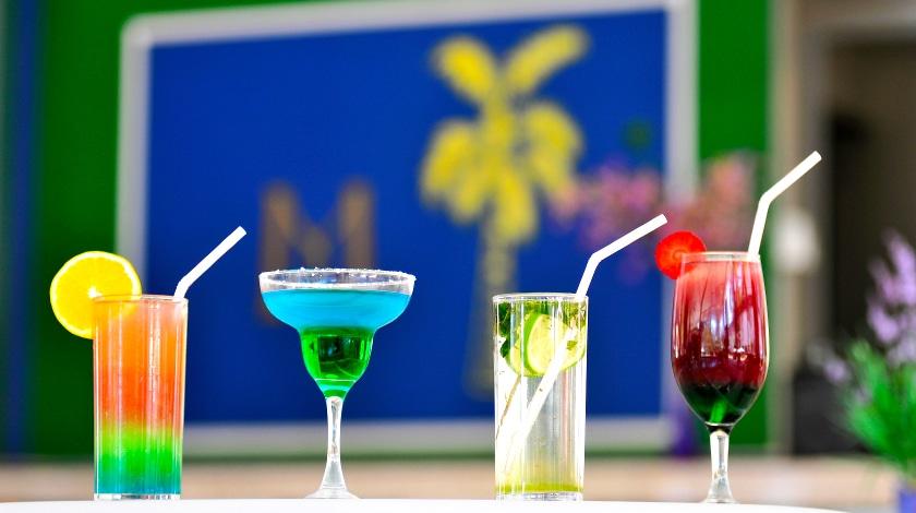 Drinks servidos pelos bares do Mavsa