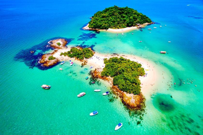 Ilha de Cataguases, em Angra dos Reis, Rio de Janeiro