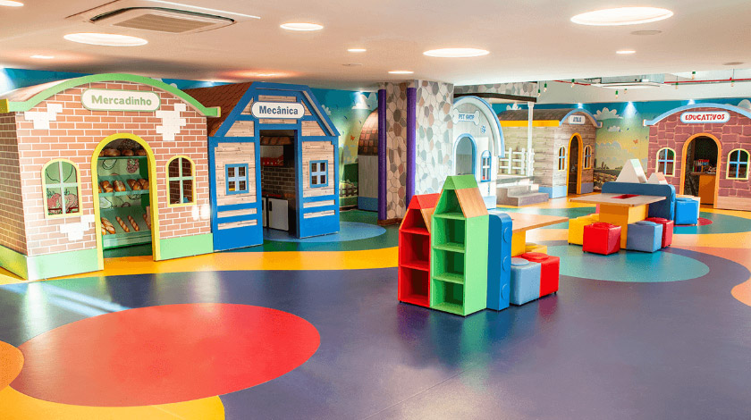 Kids' club do Japaratinga Lounge Resort