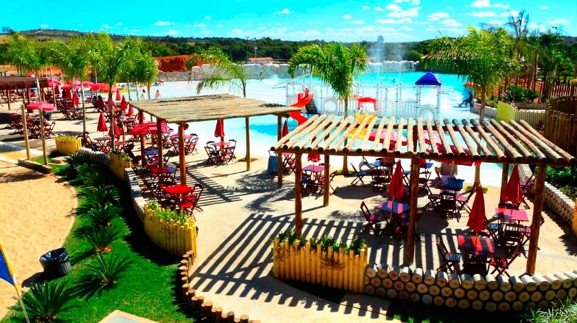 Praia artificial do Lagoa Ecopraia