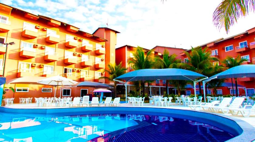 Piscina do Lagoa Quente Hotel