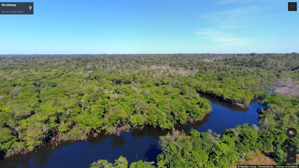Street View da Floresta Amazônica