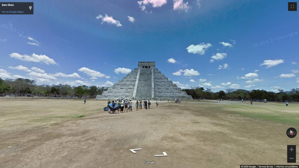 Street View de Chichén Itzá, no México