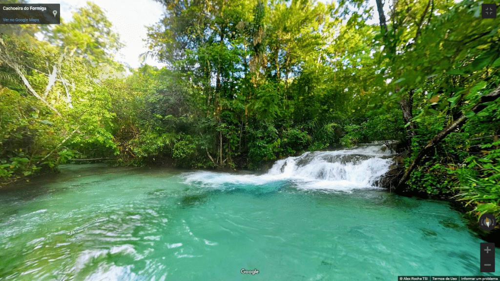 Street View do Parque Estadual do Jalapão, no Tocantins