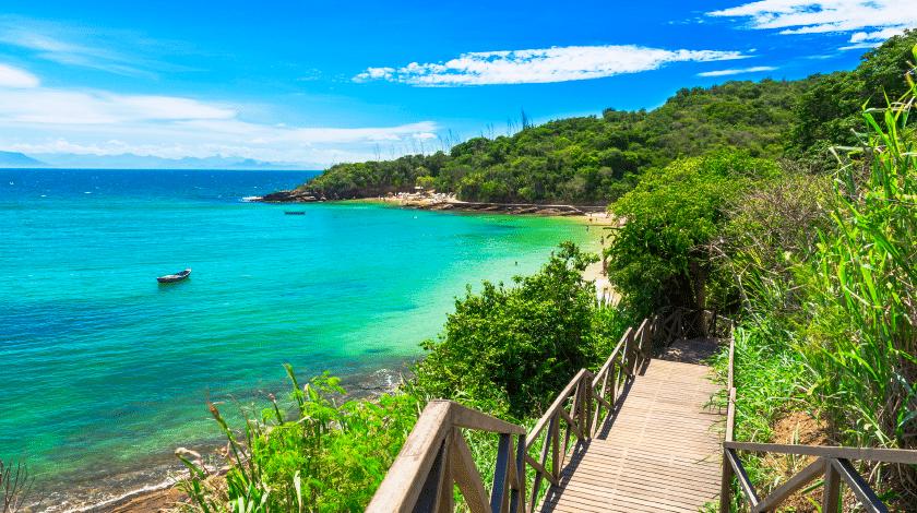 Praias Azeda e Azedinha, em Búzios, no Rio de Janeiro
