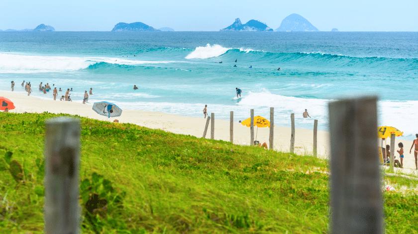 Praia da Reserva, no Rio de Janeiro