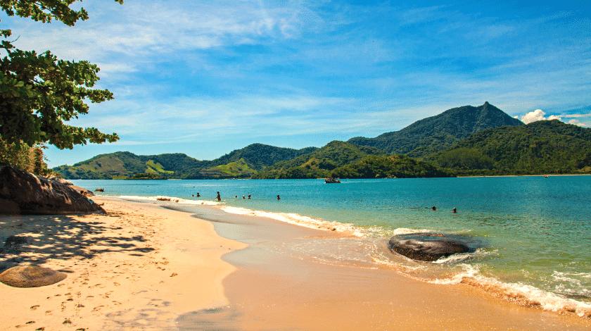 Praias de Antigos e Antiguinhos, em Paraty, no Rio de Janeiro